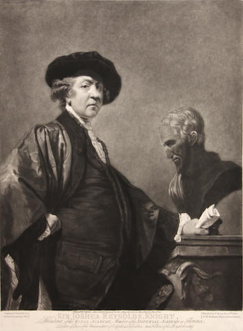 Valentine Green (British, 1739-1813); after Sir Joshua Reynolds Sir Joshua Reynolds, Knight;