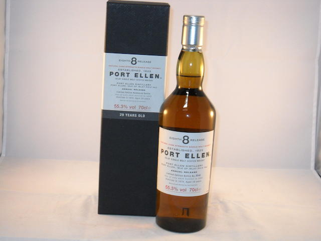 Port Ellen 29 year old- 8th Release (1)