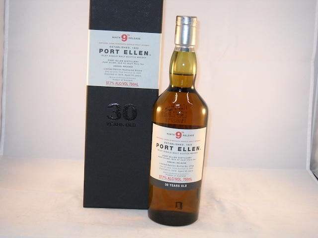 Port Ellen 30 year old- 9th Release (1)