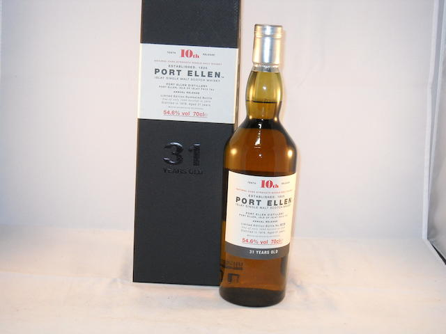 Port Ellen 31 year old- 10th Release (1)