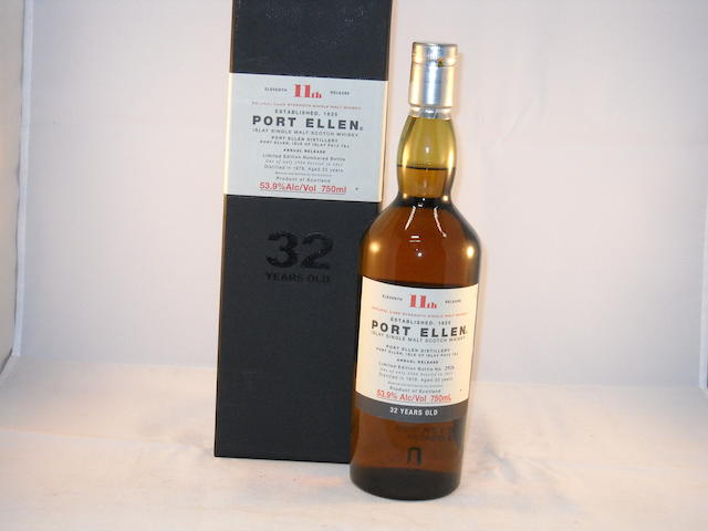 Port Ellen 32 year old- 11th Release (1)