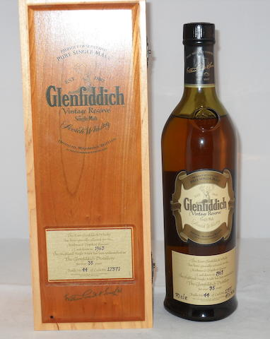 Glenfiddich Vintage Reserve 1963- 35 year old (1)