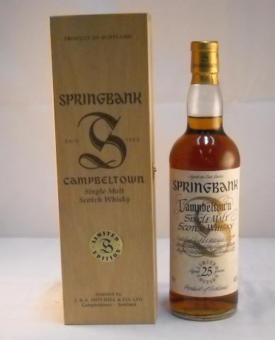 Springbank 25 yr- Millennium (1)