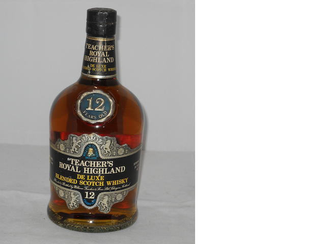 Teacher's Royal Highland DeLuxe 12 year old (1)