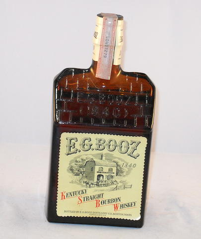 E.G. Booz Kentucky Bourbon (1)