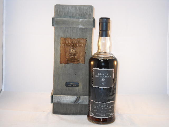 Black Bowmore 1964- 31 year old (1)