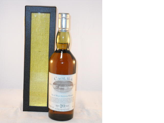 Caol Ila 20 year old (1)