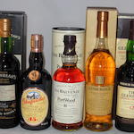 Glendullan-Glenlivet 1978- 17 year old (1) <BR /> Glenfarclas 15 year old (1) <BR /> Balvenie 21 year old (1) <BR /> Glenmorangie Astar (1) <BR /> Glenlivet French Oak- 12 year old (1)
