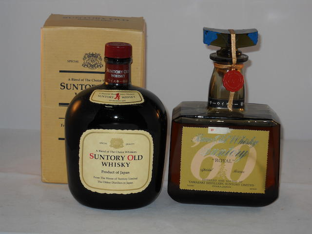 Suntory Old Whisky (1) <BR /> Suntory Royal Special Reserve (1)