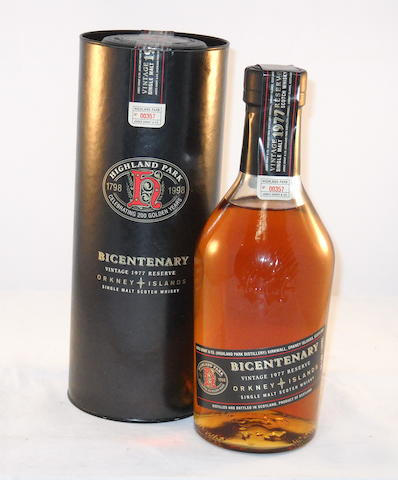 Highland Park Bicentenary 1977- 21 year old (1)