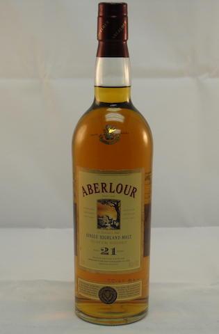 Aberlour 21 year old (1)