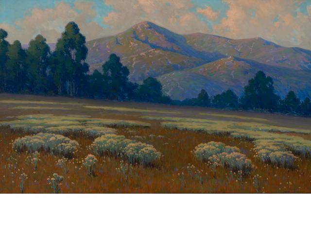 John M. Gamble, Santa Barbara Landscape