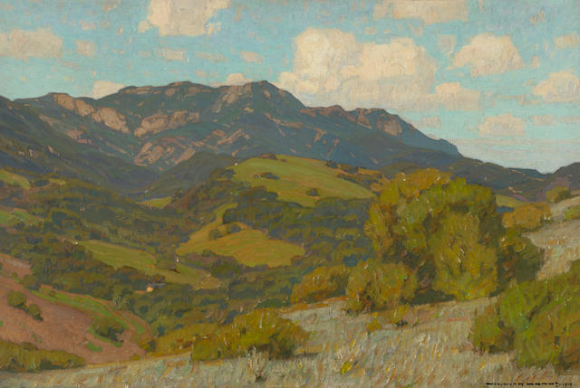 William Wendt, Rolling Hills, CA, 1910