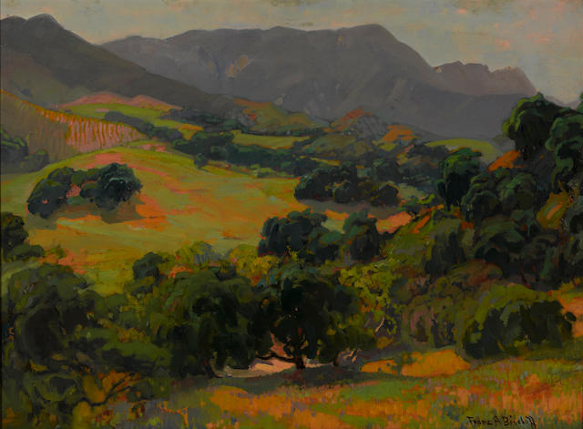 Franz A. Bischoff, California Oaks