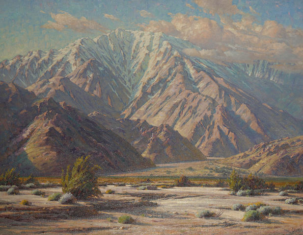 Paul A. Grimm (American, 1891-1974) Majestic San Jacinto 36 1/4 x 46 1/4in