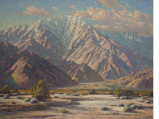 Paul Grimm, San Jacinto Scene