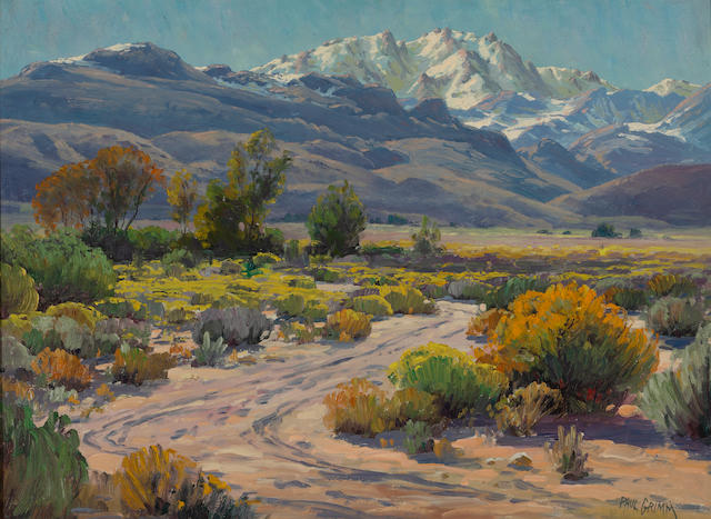 Paul Grimm, Down in the Desert, Bishop