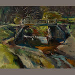 Maurice Logan, Bridge at Old Walnut Creek