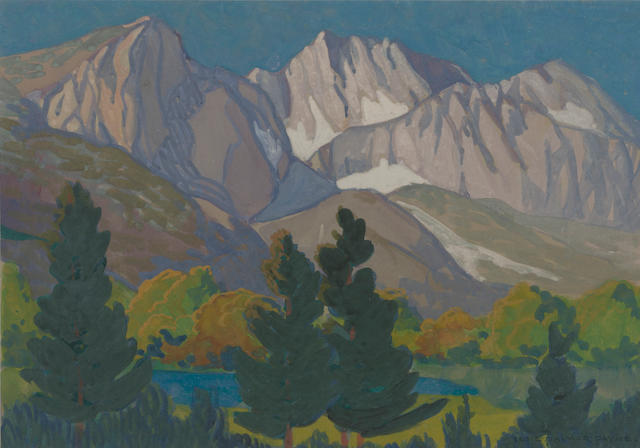 Elsie Palmer Payne, High Sierras