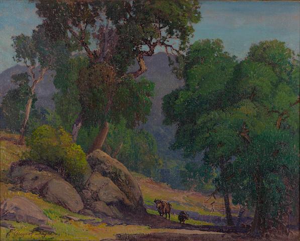 F. Grayson Sayre, Pastoral Scene