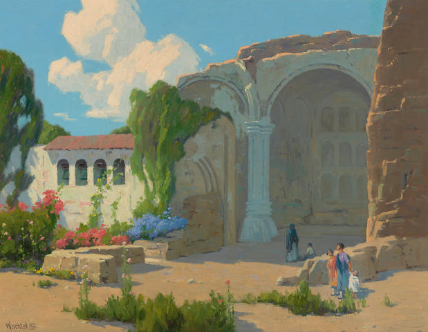 Elmer Wachtel, Visitors to Mission San Juan Capistrano