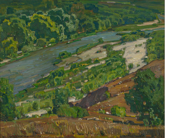 William Wendt, Santa Ana River