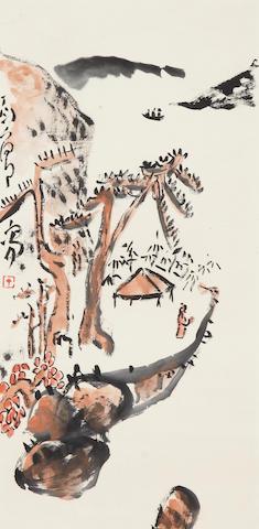 Ding Yanyong (1902-1978) Landscape
