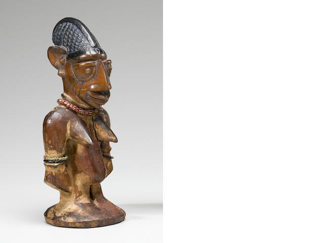 Large Yoruba Female Ibeji, Ijebu Ode Region, Nigeria