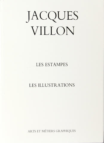 Jacques Villon (French, 1875-1963); De Ginestet, Colette/Pouillon, Catherine. Jacques Villon - Les Estampes et Les Illustrations;