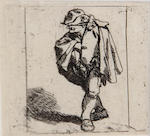 Cornelis Pietersz Bega (Dutch, circa 1631-1664); A Group of Four Etchings;