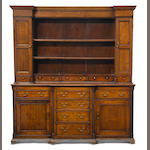 A George III oak high dresser