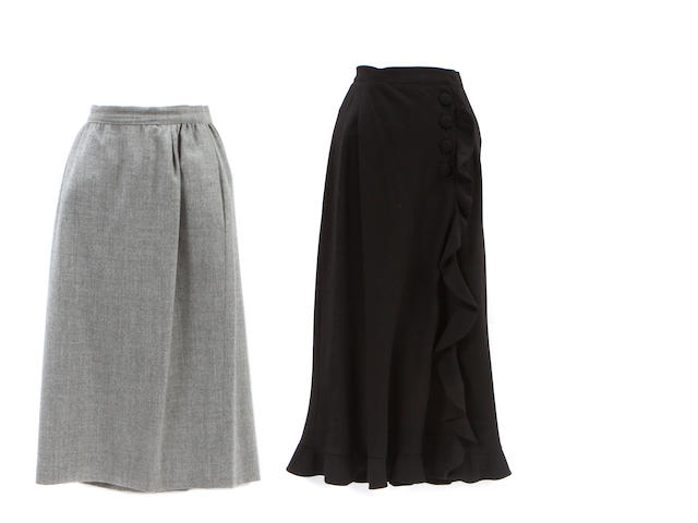 Two Valentino skirts