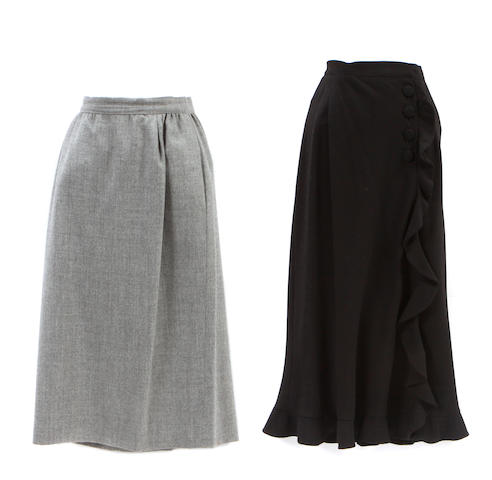 Two Valentino skirts