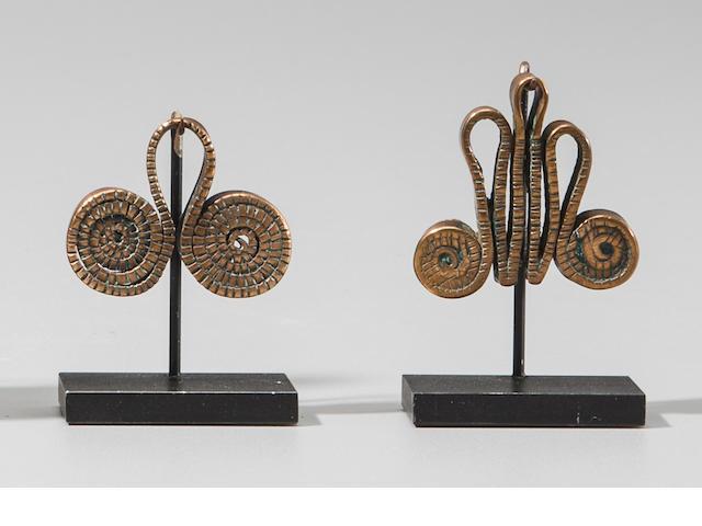 Two Sidamo Pendants, Ethiopia