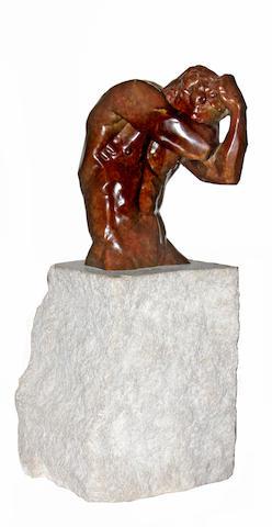 John Sisko (American, born 1958) Minotaur II: Concealed, 1994 27 1/2 x 11 x 10 1/2in