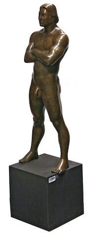Michael Bergt (American, born 1956) Man, 2000 48 1/2 x 13 x 11 3/4in