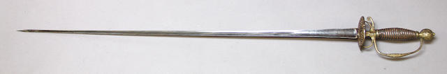 An 18th century French small sword