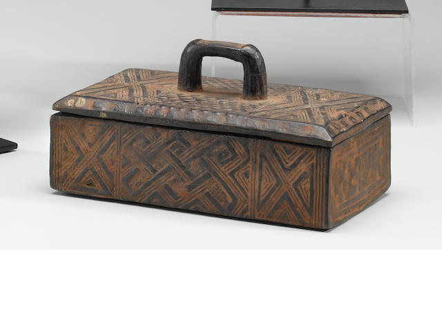 Kuba Tukula Box, Democratic Republic of the Congo