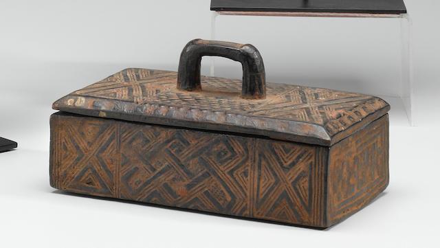 Kuba Tukula Box, Democratic Republic of the Congo