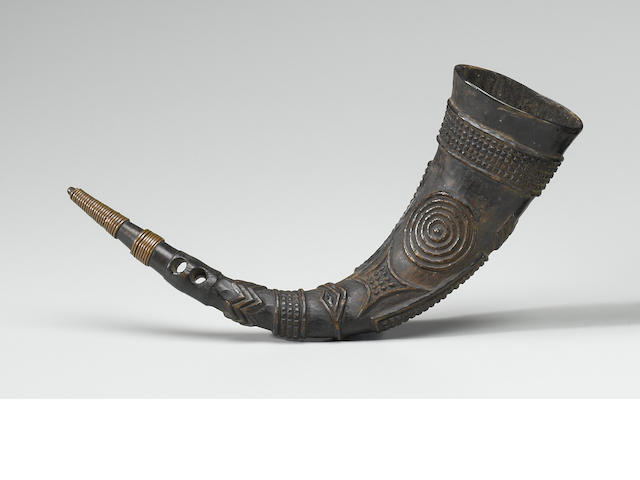 Kuba Drinking Horn, Pombo Village, Zone Mueka, Democratic Republic of the Congo