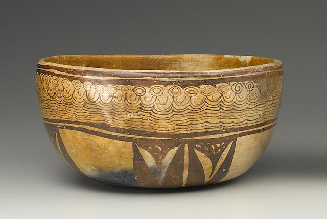Chinesco Bowl,<BR />Protoclassic, ca. 100 B.C - A.D. 250