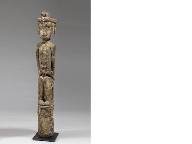 Ngaju Dayak Ancestral Guardian Figure, Central Kalimantan,  Borneo