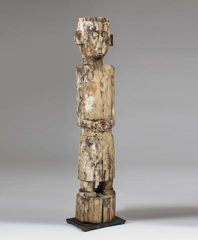 Ngaju Dayak Ancestral Guardian Figure, Central Klimantan, Borneo