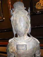 A Korean style figure of Guanyin