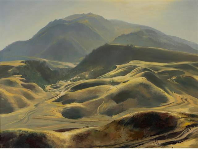 Emil Jean Kosa, Jr. (American, 1903-1968) Whispering silver 30 1/4 x 40 1/4