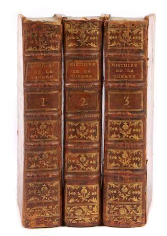 LONGCHAMPS, PIERRE DE. Histoire Impartiale des Evenemens Militaires et Politiques de la Derniere Guerre. Paris: Chez la Veuve Duchesne, 1785.