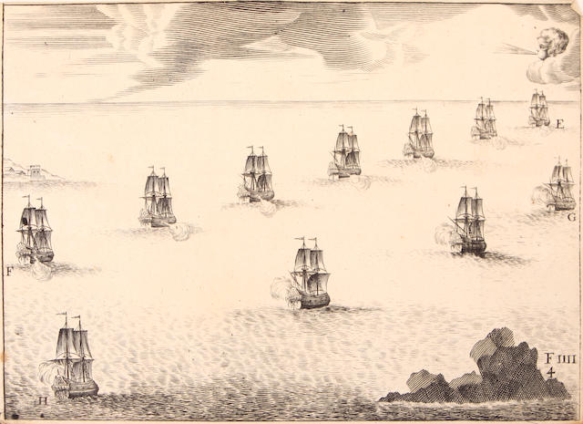 HOSTE, P. PAUL. Boswall, J.D., trans. A treatise on Naval Tactics.  Edinburgh: Bell and Bradfute, 1834.