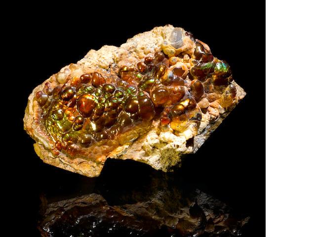 Fire Agate specimen
