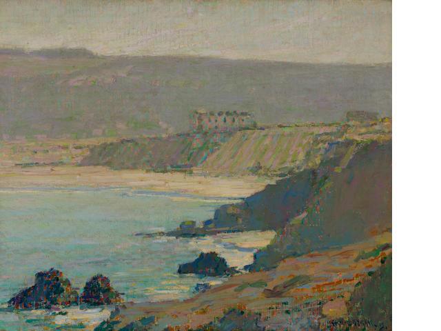 Clarence Hinkle (American, 1880-1960) Laguna coast, 1915 30 x 36in