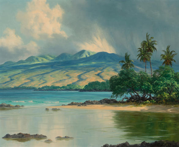 Lloyd Sexton, Jr. (American, 1912-1990) Puako, The Big Island, Hawaii, 1967 18 X 22in